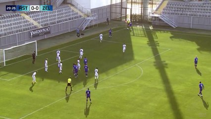 FK Željezničar - FC Astana 1:0 (Boccaccini)