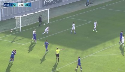 FK Željezničar - FC Astana 1:1 [Golovi]