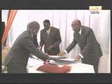 SEM Emile Ibodo elevé au rang de commandeur dans l'ordre national par M Daniel Kablan