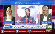 I think Imran Khan is more committed. He should be matured in politics. Ex Ameer JI Munawar Hassan