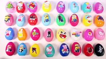 Surprise Eggs Angry Birds Peppa Pig Minions Hello Kitty Disney Frozen Spiderman