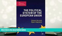 FREE [PDF]  The Political System of the European Union (The European Union Series) PDF [DOWNLOAD]