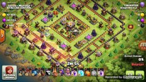 NEW 2017 QUAD LAVA HOUND ATTACK- CLASH OF CLANS ATTACK AND PUSH STRATEGY - SUPERCELL