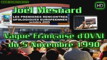 Joël Mesnard - Vague Française d'OVNIs du 5 Novembre 1990