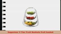 Saganizer 3 Tier Fruit Baskets fruit basket e2becf65