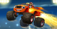 Blaze and the Monster Machines Full Episodes - The Driving Force - Cartoons For Children