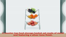 MyGift Hammock Style 3 Tier Fruit Basket Produce Storage with Detachable Baskets d41c9382