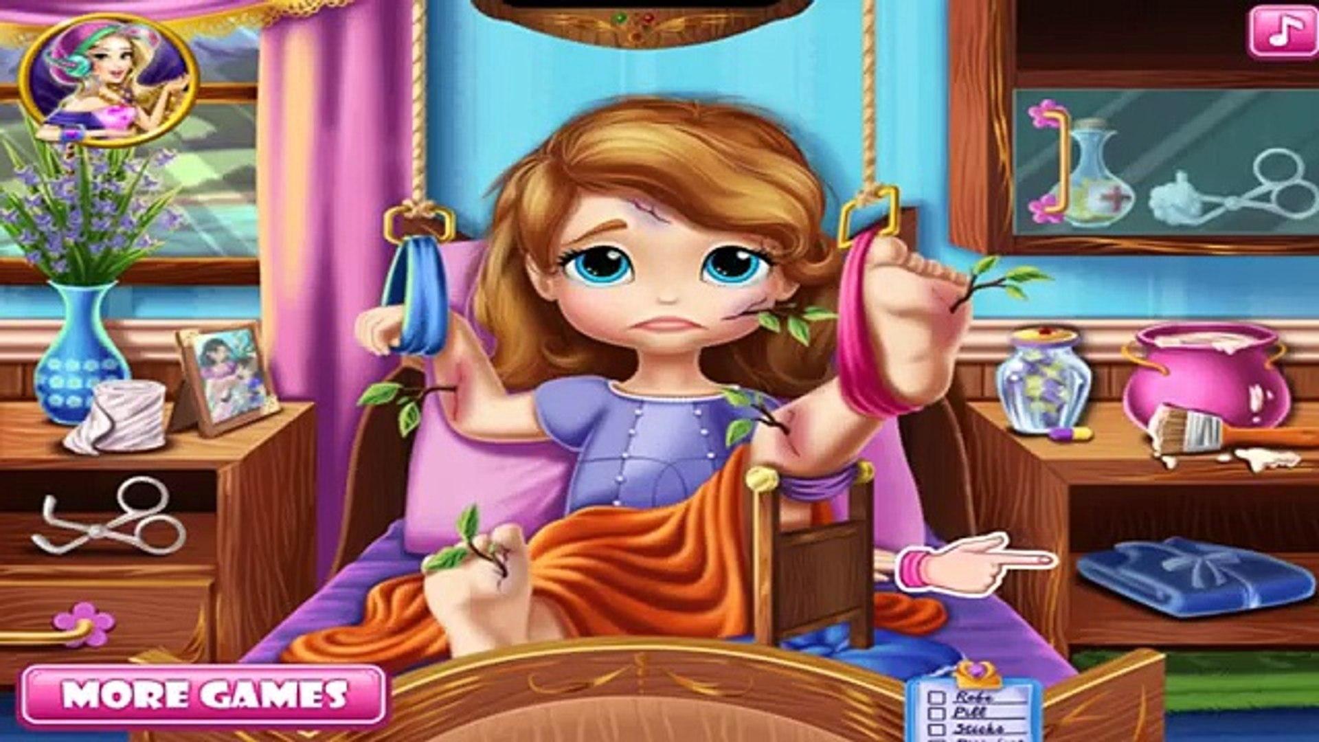 София Первая больница восстановления | Disney Princess | Мультфильм Игры для детей