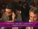 Camil, Ludwika y Veronica Castro atrapados en Argentina