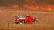 آتش سوزی گسترده در ایالت نیوساوت ولز استرال�