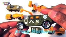 Learn Vehicles | Construction Vehicles For Kids | Army Vehicles | Street Vehicles
