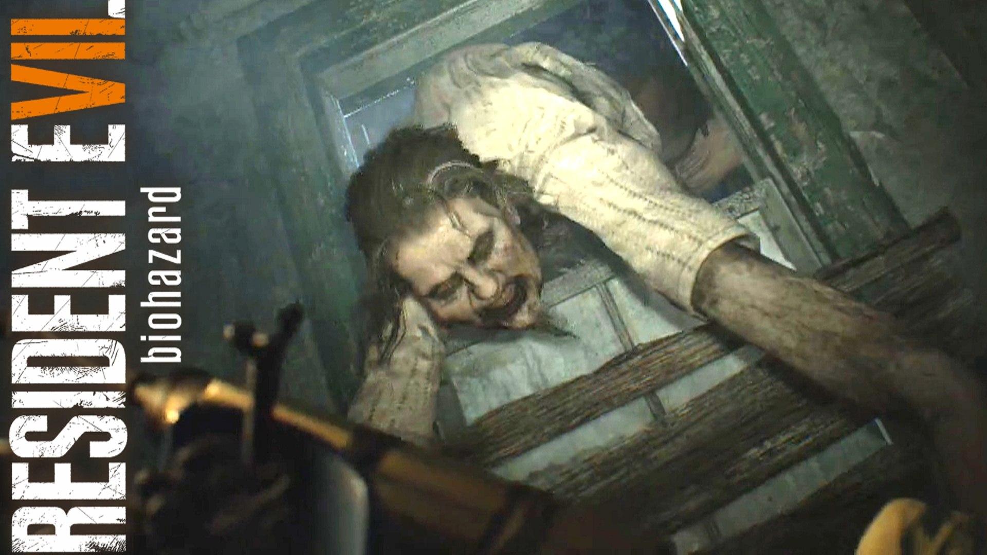Resident Evil 7 Marguerite Boss Fight Part 5 Old House