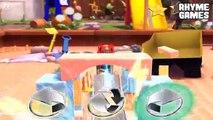 Disney Pixar Cars Daredevil Garage | Lightning McQueen Level 1 Racing Backyard Stunts Finger Family
