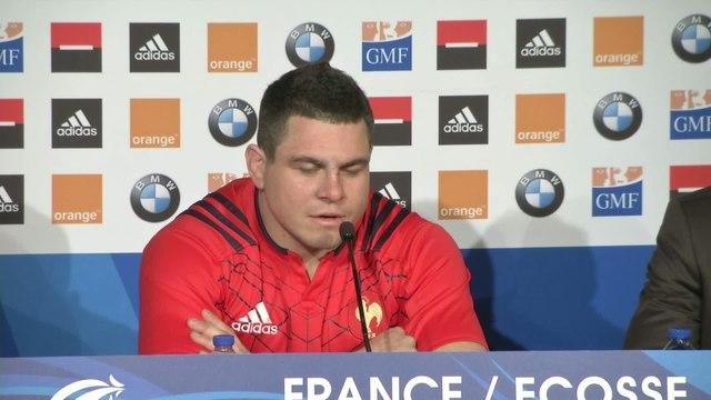 Rugby - Tournoi - Bleus : Guirado «Un peu crispés»