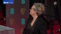 Meryl Streep cuts an elegant figure on BAFTAs red carpet _ Daily Mail Online