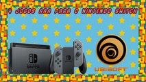 Ubisoft deve Lançar 4 Jogos AAA Para o Nintendo Switch