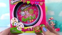 SHOPKINS de la Temporada 3 de la Moda Spree Maquillaje Irregular Polly polaco Play Doh Huevo Sorpresa
