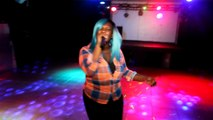 POP-UP TV FILMING LIVE - QUEEN LADY BISHOP PERFORMS LIVE..PRESS PLAY - GARY GRIFFIN
