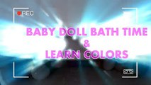 Jono Baby Doll Fun Playing With Robot Baby Doll Bath Time & Learn Colors BABY DOLL BABY DOLL