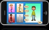 Cabeza Hombros Rodillas y Dedos de los pies Android juego aprender TabTale aplicaciones de Cine de niños gratis mejores
