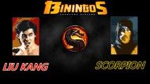 Mortal Kombat Liu Kang VS Scorpion