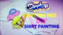 DIY Shopkins Dum Mee Mee Baby Shirt Painting