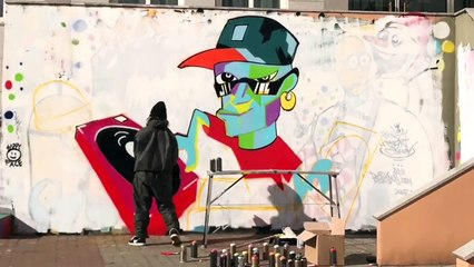 # graffiti - at Hanrim art school [Poppin Hyunjoon 팝핀현준]