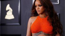 RiRi Is Fashionably Late To The Grammys