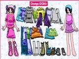 Симпатичные девушки одеваются игры для детей, супер-игра для детей, хорошая игра для детей, лучшая игра