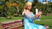 Spiderman vs Joker vs Frozen Elsa Disney Elsa Kidnapped Real Life Superheroes Mo