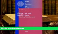 Kindle eBooks  Studies in Islamic Law and Society, Islamic Law and Legal System: Studies of Saudi