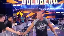 WWE Raw 2016- Goldberg Returns & Go's Face To Face With Brock Lesnar & Undertaker