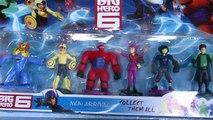 Disney Big Hero 6 Unboxing Hiro, Baymax, Go Go Tomago, Wasabi No Ginger, Yokai - Kiddie Toys
