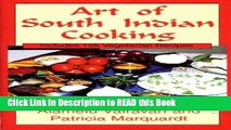 Read Book Art of South Indian Cooking ePub Online