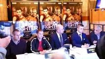 Lennny Daws V Anthony Yigit European Super Lightweight Presser-aycKy4z127g