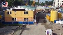 Reconstruction d'un canal à la place d'une autoroute aux Pays-Bas