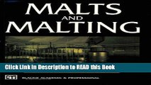 Read Book Malts and Malting Full Online