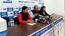 नोटबंदी घोटाले के विरोध में 17 फरवरी से आम आदमी पार्टी करेगी देशव्यापी प्रदर्शन