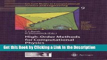 Read Ebook [PDF] High-Order Methods for Computational Physics (Lecture Notes in Computational