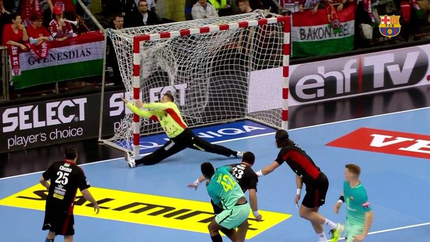 [HIGHLIGHTS] HANDBOL (Champions League): Veszprem - FC Barcelona Lassa (22-25)