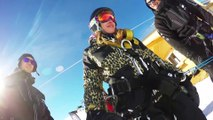 Bun J Ride à Tignes : du saut à l'élastique en ski sur tremplin