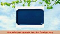 Carlisle CT101414 Polypropylene Cafe Standard Tray 1387 x 1075 Blue Case of 24 3e668109