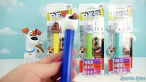 Best Candy Toys and The Secret Life of Pets Pez Candy Dispensers Toy Surprises