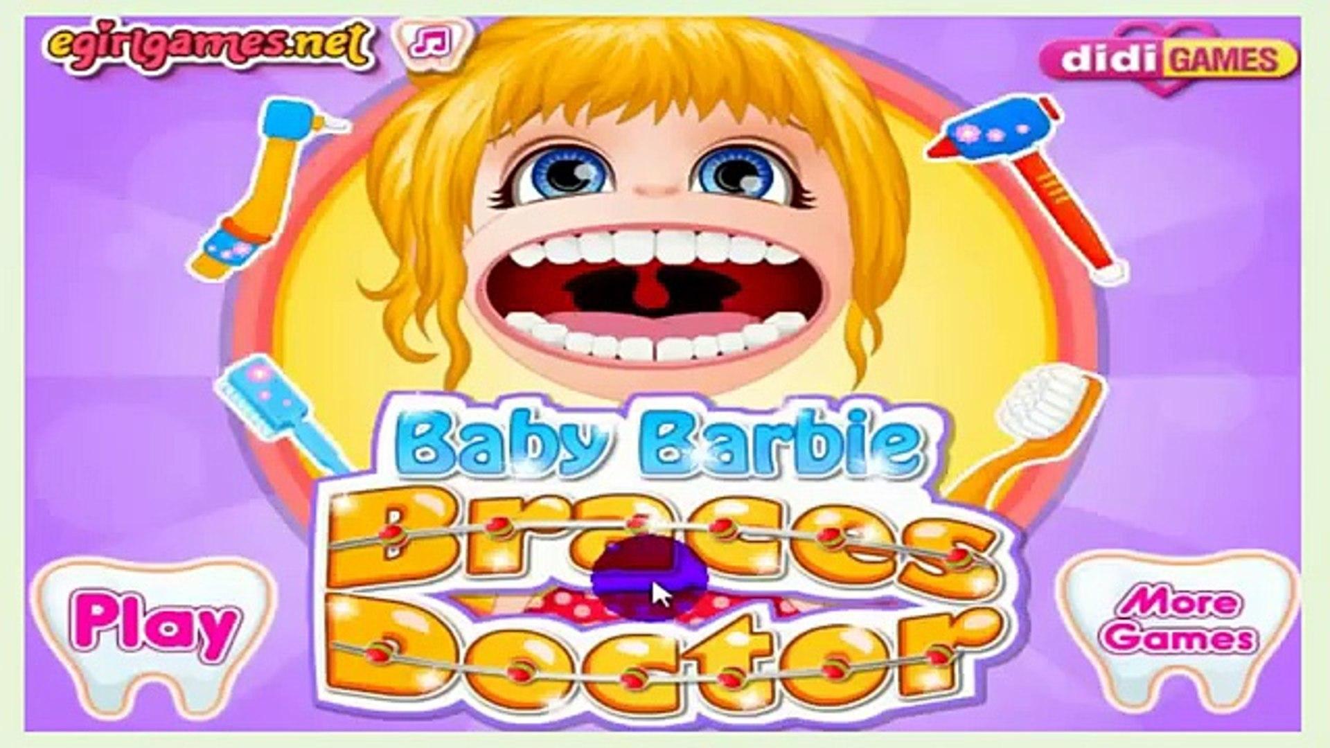 Детские Барби брекеты Доктор девушка игра Барби Доктор игры полный HD английский эпизод
