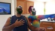 CRAZY Jokers! Joker vs Bearded Joker vs Red Joker | Real Life Superhero Fun Movie