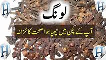 Cloves Health Benefits -- Cloves Spice Benefits -- Long Ke Fayde -- Health Tips In Urdu _ Hindi - YouTube