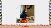 Star Wars Darth Vader Candle Holder with Lightsaber Candle 50ecb1ad