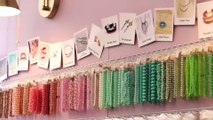 Sports Loisirs : DIY bijoux : Bague fine en chaîne et pierres semi-précieuses