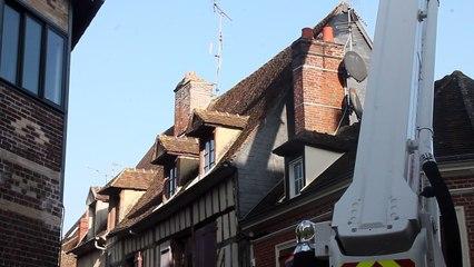 Beauvais : incendie rue d'Alsace