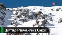 quattro Performance Check with Drew Tabke - Vallnord-Arcalís - Swatch FWT17
